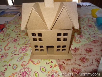 dollhouse kit present