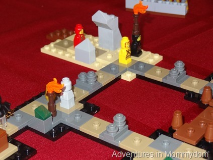 Lego heroica game board