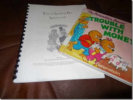 Learning with Berenstain Bears curriculum
