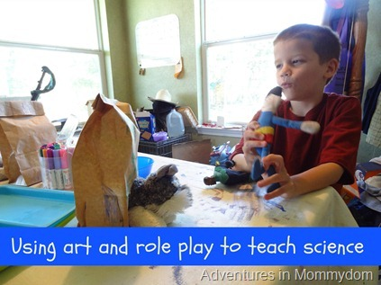 Using art and role play to teach science