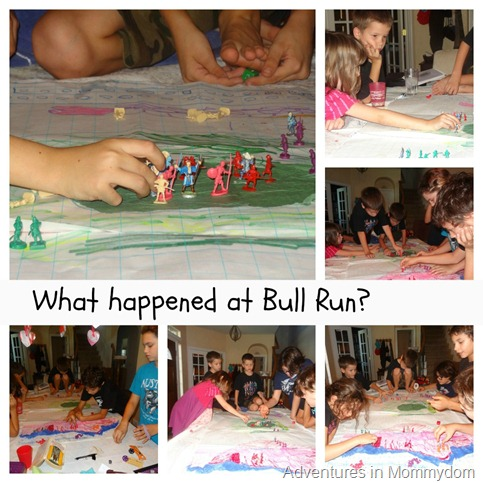 What happened at Bull Run