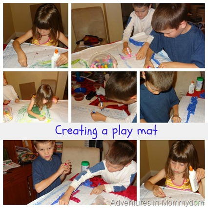 creating a play mat
