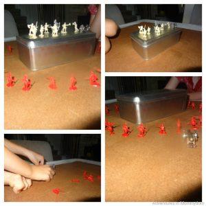 Civil War Battles shown visually