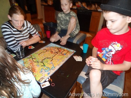 Transamerica geography train game