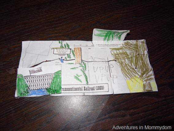 transcontinental railroad 3d map