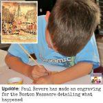 Boston Massacre Paul Revere engraving