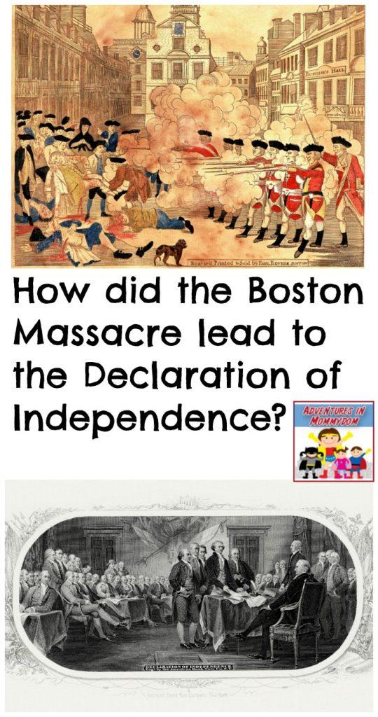 Boston Massacre lesson