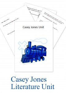 Casey Jones Literature Unit