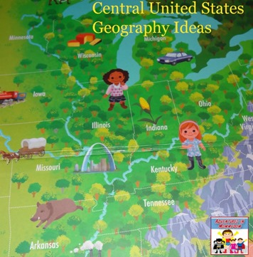 Central United States Geography ideas