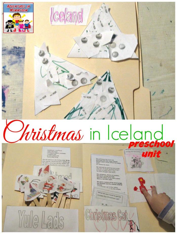 Christmas in Iceland preschool unit