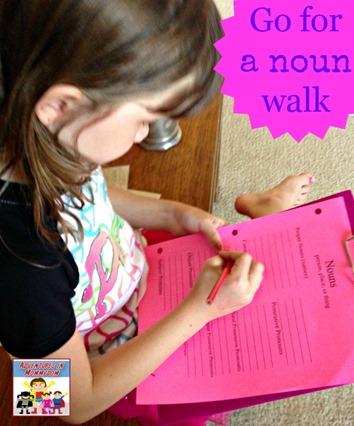 Go for a noun walk