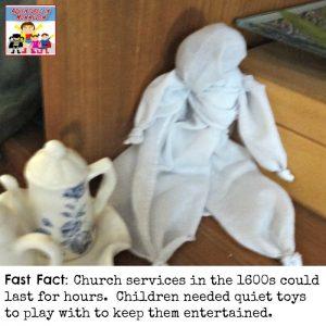 Handkerchief doll craft