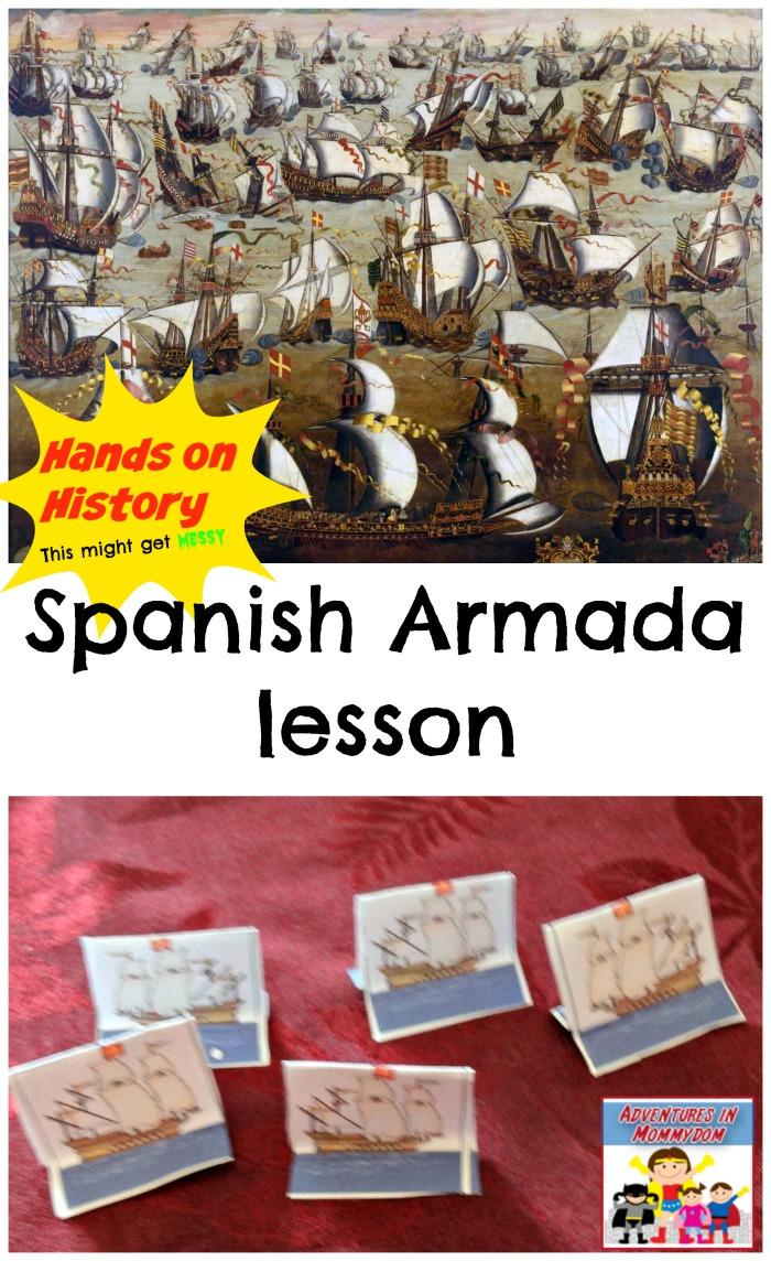 Hands on History Spanish Armada lesson