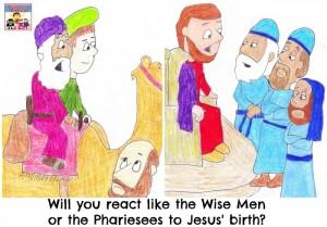 Wise Men visit Jesus lesson