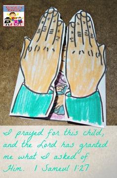 I prayed for this child