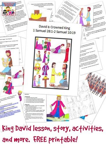 King David lesson story