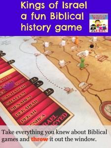 Kings of Israel a Biblical board game