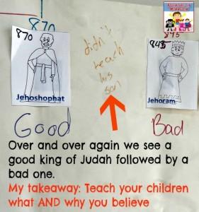 Kings of Judah lesson