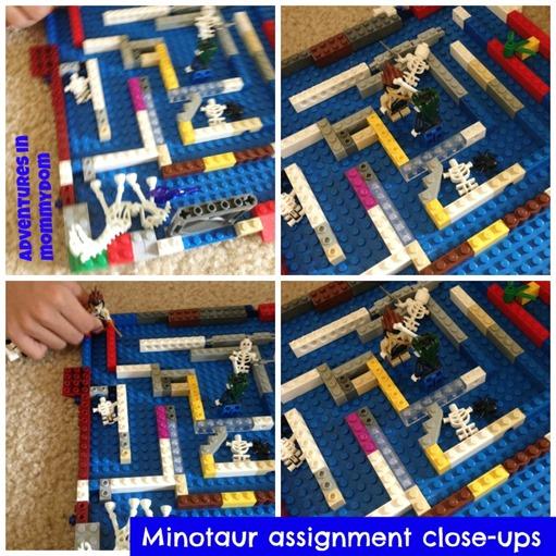 Minotaur lego maze