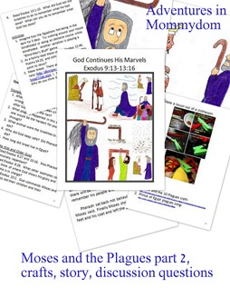 Moses plague 2 storybook