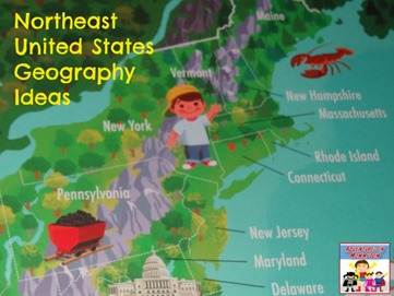Northeast United States geography ideas
