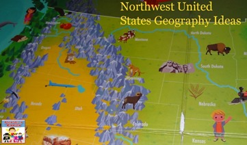 Northwest United States geography ideas