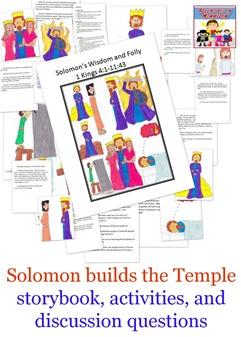 Solomon builds the temple lesson