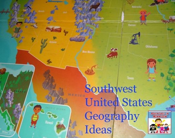 Southwest United States Geography Ideas