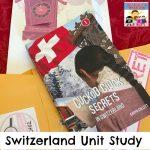 Switzerland literature unit study