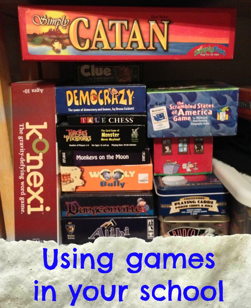 Using games in school
