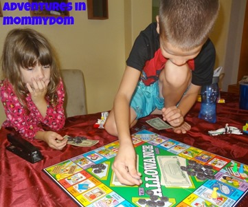 allowance board game