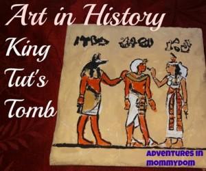 Art History project: King Tut's Tomb