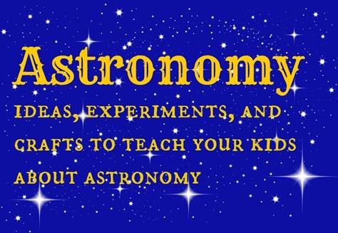 astronomy pinterest board