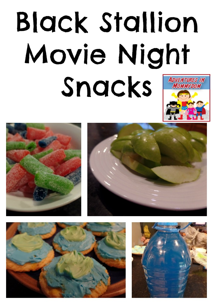 black stallion movie night snacks