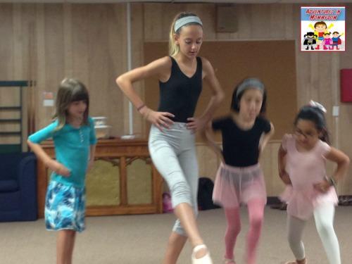 dance class for Princess