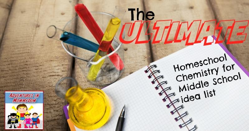 homeschool chemistry middle school