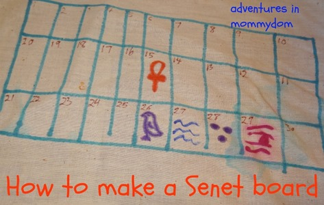 how to make a senet board