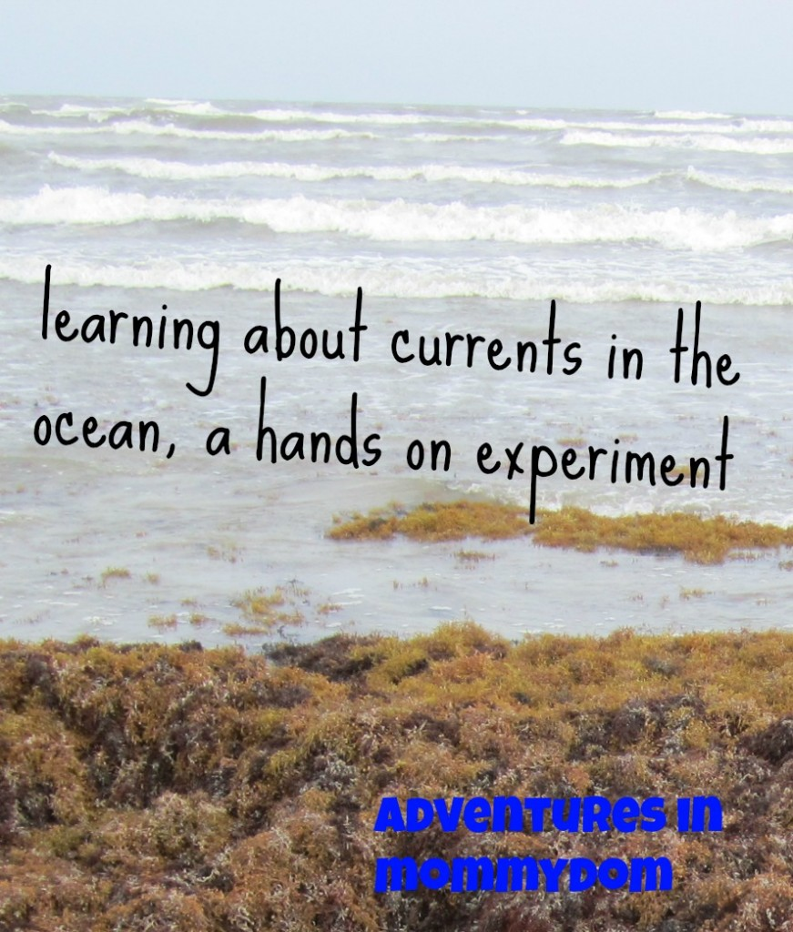 learning about currents in the ocean