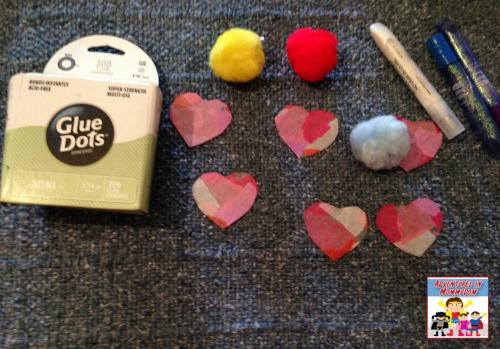valentine love bug craft