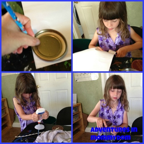 make a daddy daughter jar for fathers day