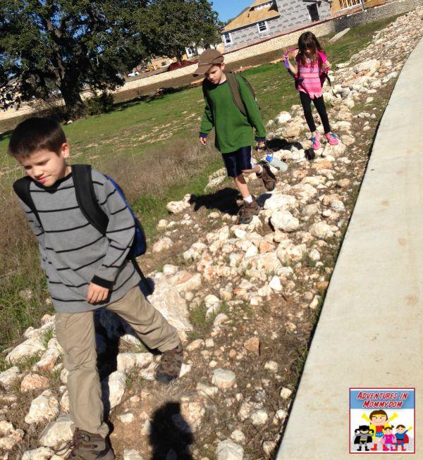 mock public school walk to school