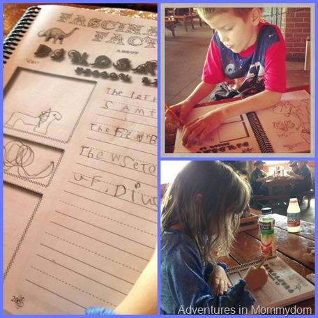 notebooking dinosaurs