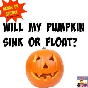 Does a pumpkin float?