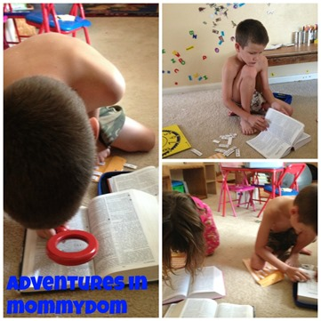 reading our Bibles