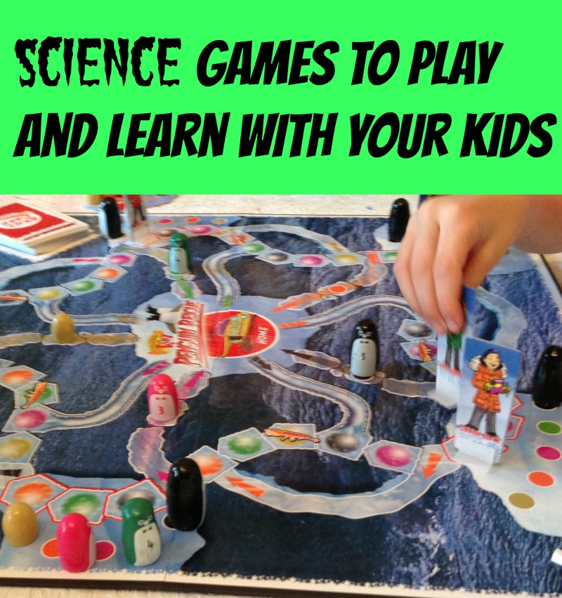 science games to play and learn with your kids