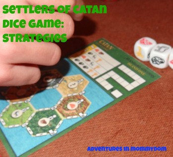 settlers of catan dice game strategies