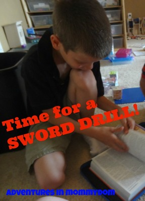 time for a sword drill