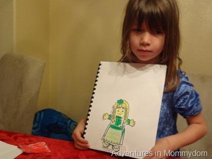 Ireland paper doll