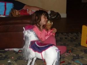 My little Princess turned SEVEN!