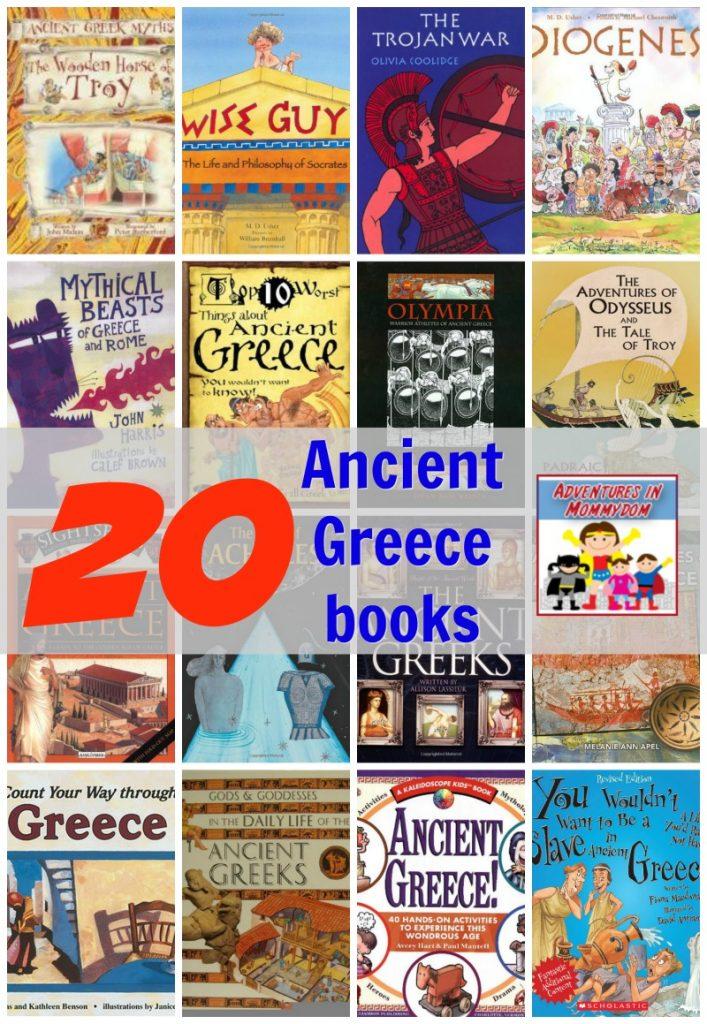 20 ancient greece books